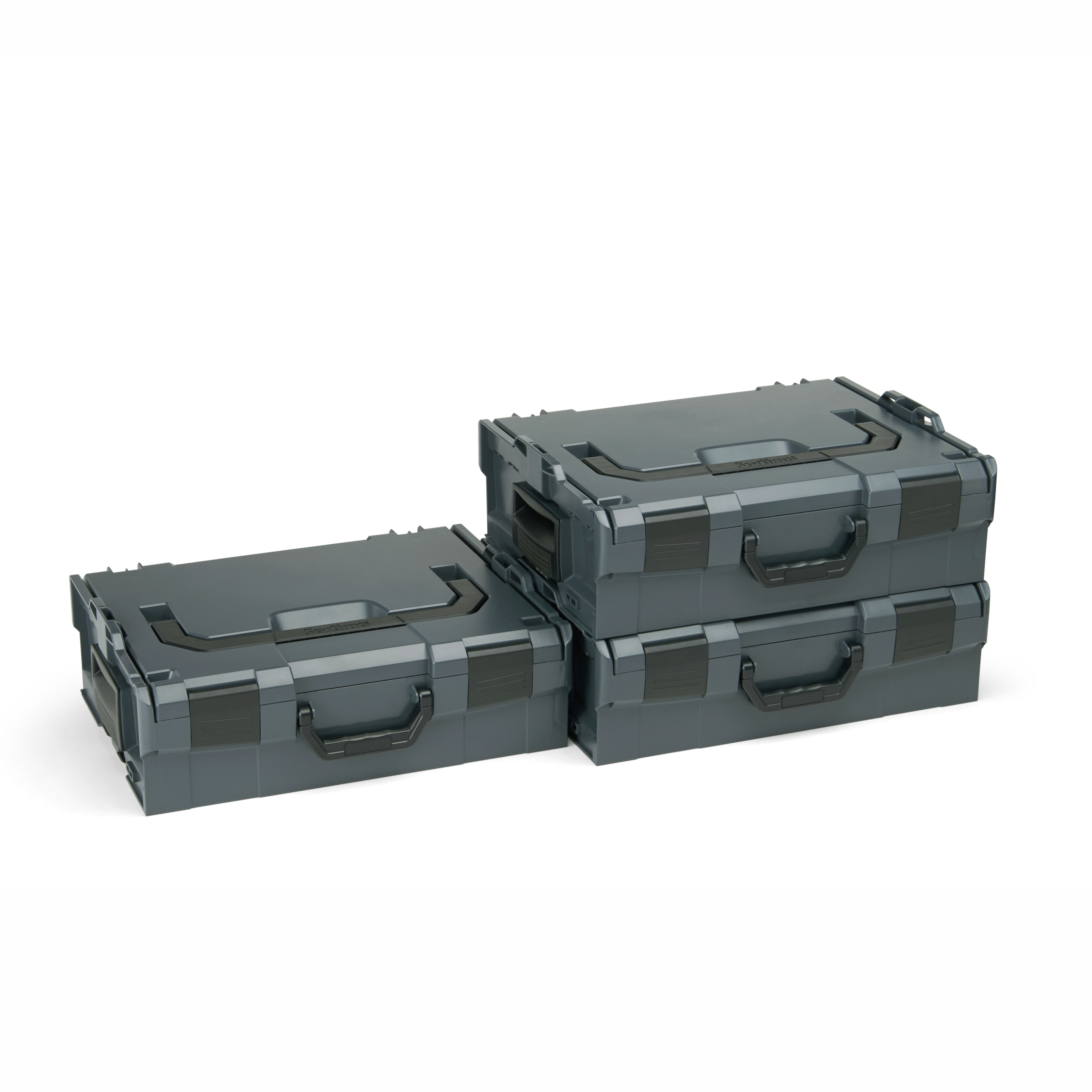 bosch sortimo l boxx 136 gr2 3er set anthrazit. Black Bedroom Furniture Sets. Home Design Ideas